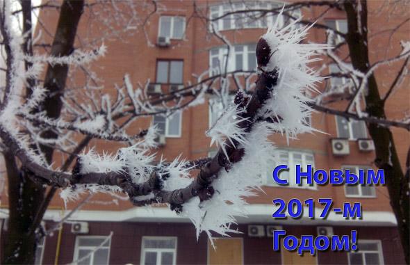 С Новым 2017 Годом и Рождеством Христовым!